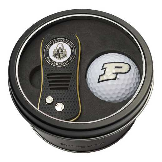 23056: Tin Gft St w/ Switchfix DVT Glf Ball Purdue Boilermakers